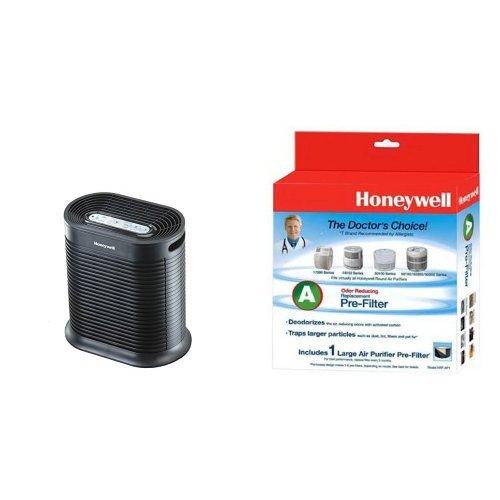Honeywell HPA100 True HEPA Allergen Remover, 155 sq. ft. & H