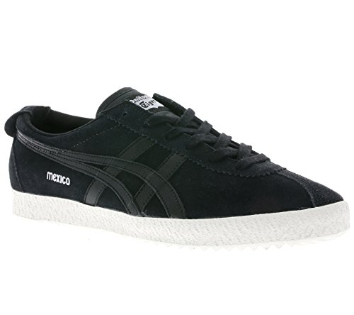 Onitsuka Tiger Mexico Delegation, Sneakers Basses Unisexe Adulte Schwarz