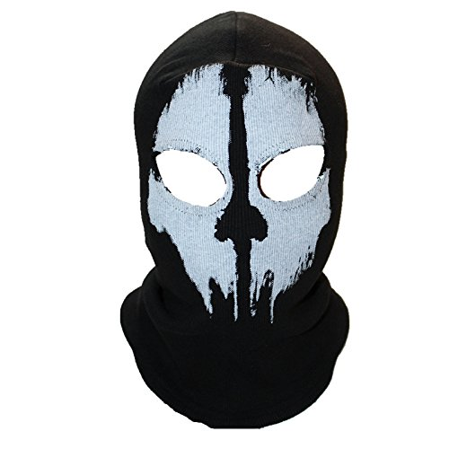 Blue Stones - Winter Skull Mask Balaclava - Beanies Hats Men Ghost Skull - Full Face Mask Out Door Hood Beanie - 3 Special Styles - 09 Beanie