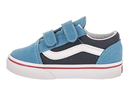 Vans Uy Old Skool V, Zapatillas para Niños Cendre Blue/parisian Night