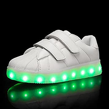 57b54d48273f1 Aemember Girls' Sneakers Comfort Light Up Shoes Spring Summer Fall ...