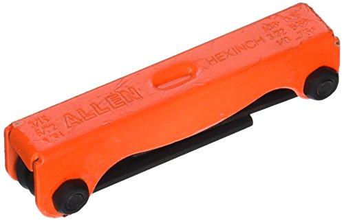 Allen 56636G 9-Key SAE HI-VIS Hex Key Fold-Up Set