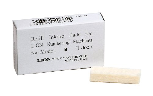 Lion Replacement Automatic Numbering PAD B product image