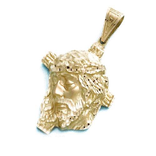 LIOR - Pendentif Or jaune 750/1000 (18kt) Jésus