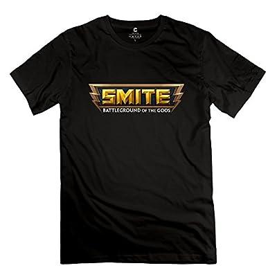 Smite Logo Fun O-Neck Shirts For Guys