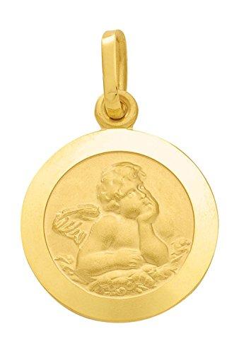 Amor pendentif pendentif en or jaune 585 14 carats