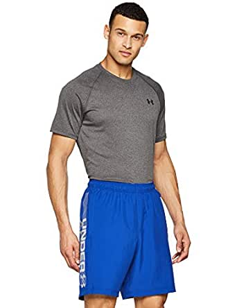 Under Armour Men's Loose Shorts, Blue, Large