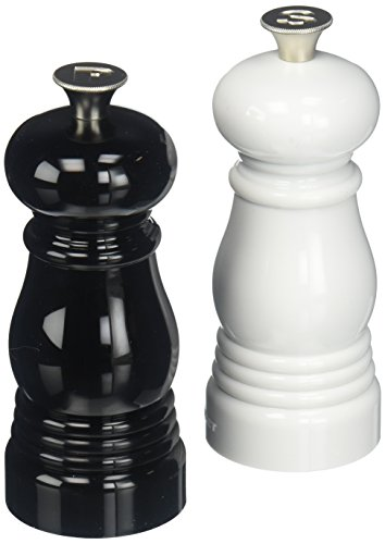 Le Creuset of America Petite Salt and Pepper Mill Set, 5