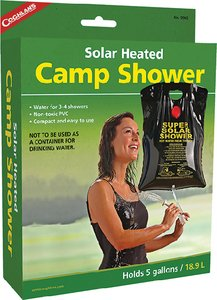 Coghlans 9965 5 Gallon Solar Heated Camp Shower by Coghlans