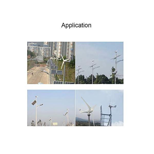 MarsRock Small Wind Turbine Generator AC 12Volt or 24Volt,400W