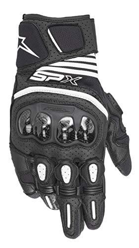 Air Carbon Motorcycle Gloves - Alpinestars SP X Air Carbon V2 Glove (Large, 10-Black)