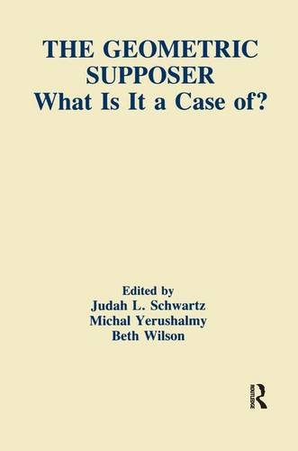 The Geometric Supposer: What Is It A Case Of? (Technology and Education Series)