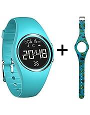 mijiaowatch Non-Bluetooth Fitness Tracker, Waterproof Pedometer Sport Bracelet with Timer Step Calories Counter Date Vibration Alarm for Sport Walking Kids Women Men