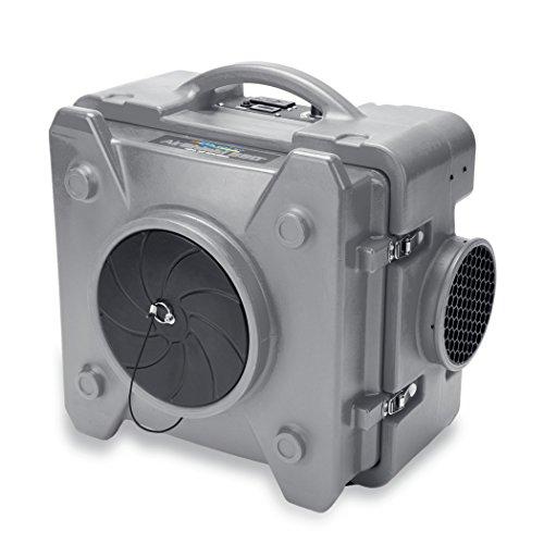 BlueDri AS-550 Grey Air Scrubber HEPA Air Filtration System Negative Air Machine Airbourne Air Cleaner HEPA Air Scrubber for Mold Air Purifier