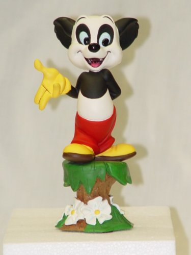 Edition Maquette Limited - Electric Tiki Andy Panda Teeny Weeny Mini Maquette Limited Edition of 200