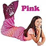 Plush and Playful Mermaid Tail Throw Blanket For