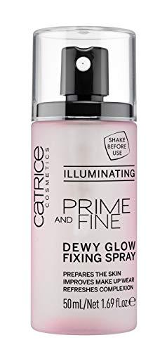 Catrice Prime And Fine Dewy Glow Finishing Spray