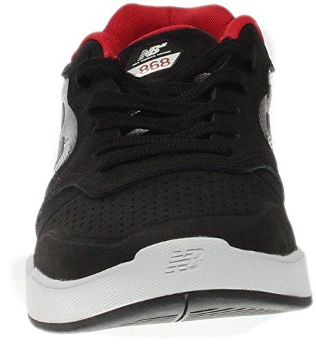 Zapatos New Balance Numeric 868 Negro-blanco-rojo