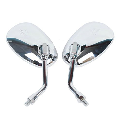 Chrome Mirrors for Kawasaki VN 2000 Vulcan VN1600 VN1500 VN900 VN800 VN400 (Exhaust System 03 Duramax compare prices)