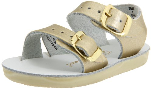 - Salt Water Sandals by Hoy Shoe Sea Wees,Gold,3 M US Infant