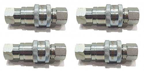 (4) 1/4'' HYDRAULIC QUICK COUPLERS for Diamond 875200100 for Buyers SAM 1304025 by The ROP Shop by The ROP Shop