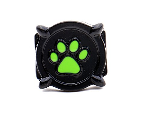 (Cat Noir ring. US size 5,6,7,8.Glow in the dark. Inspired by Lady Bug)