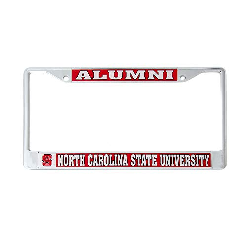 - Desert Cactus North Carolina State University Alumni Metal License Plate Frame for Front Back of Car Officially Licensed NC Wolfpack (Alumni)