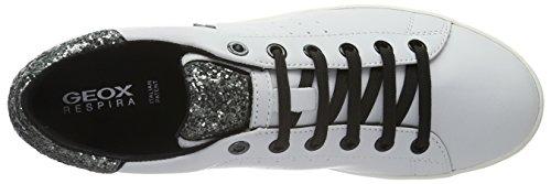 Zapatillas White para D Wei Silverc0007 Jaysen Geox Mujer a CwSqxt