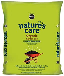 Scotts Growing Media 71959630 Nature's Care Organic Gardening Soil, 1.5-Cu. Ft. - Quantity 48