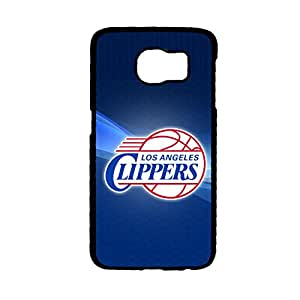 With Los Angeles Clippers Kawaii Phone Case For Child For Samsung Galaxy S6 Edge Choose Design 3