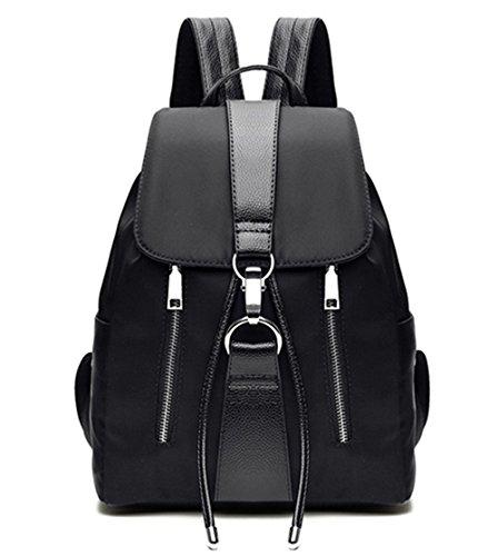 les pour à dos Noir étanche à dos Noir2 sac sac Tibes en filles mode nylon gqPwRx0
