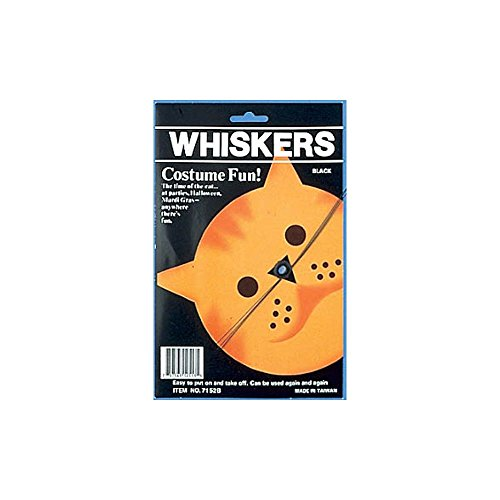 Forum Novelties Inc Women's Cat Whiskers Multicoloured One Size (Halloween Cat Whiskers)