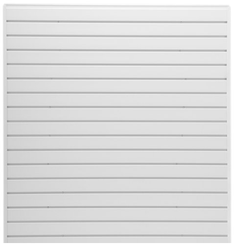Jifram 01000789 Easy Living EasyWall Slat Wall Kit, White by Jifram Extrusions