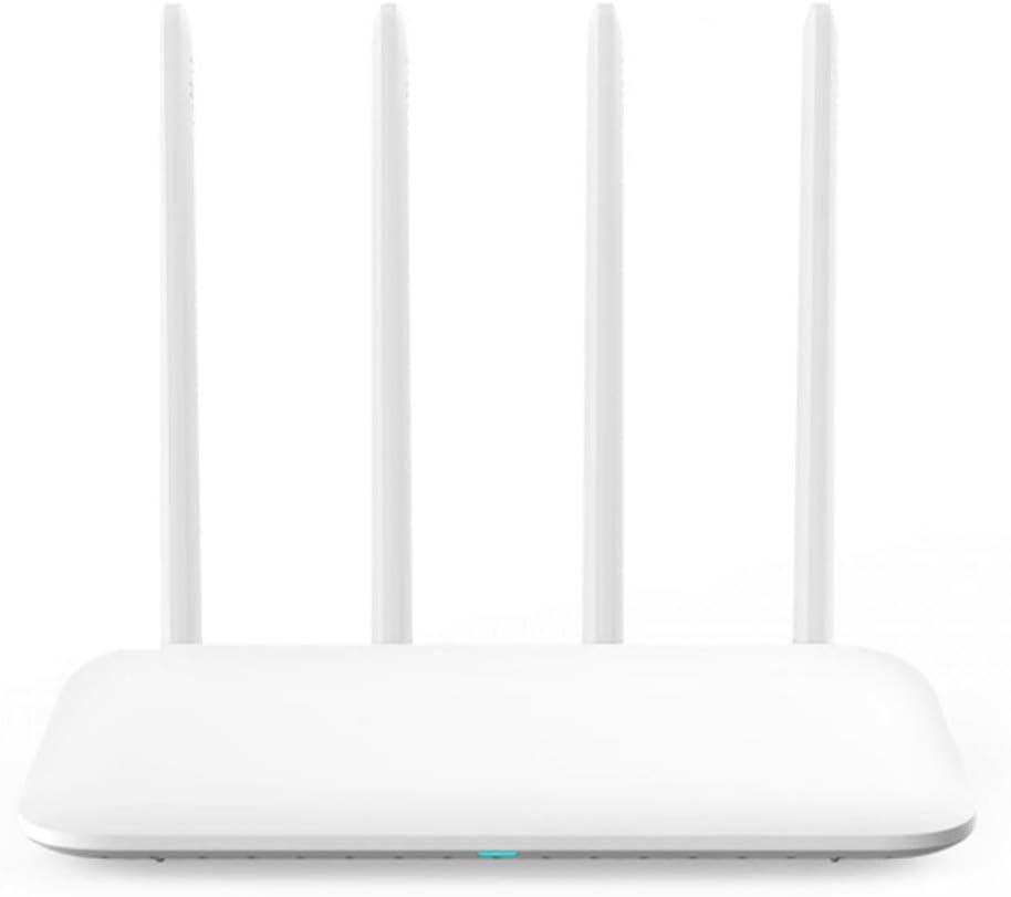 Router WiFi 4 repetidor WiFi de Banda Dual de Doble núcleo Cuatro Antenas aplicación de Control inalámbricos Routers (Color : A, tamaño : US Plug)
