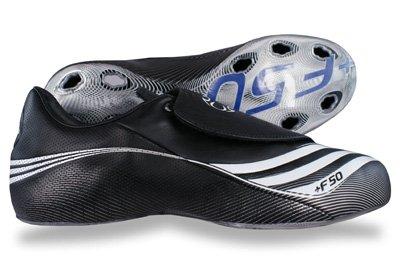 Adidas F50.7 Tunit Leder Upper Schwarz Schwarz
