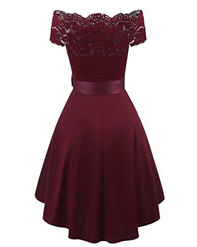 Adodress - Vestido - para Mujer Rojo1
