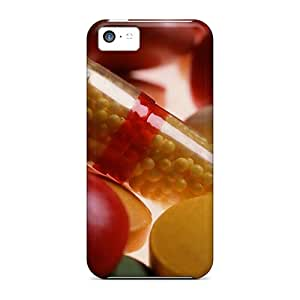 AdamDEdds Case Cover Protector Specially Made For Iphone 5c Pills Food