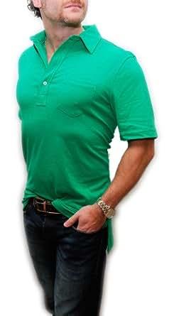 Polo Ralph Lauren RLX Mens Golf Cotton Polyester Short Sleeve Shirt Green XXL