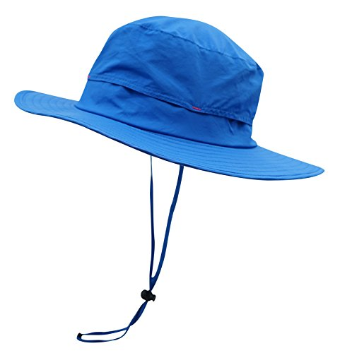 fbf7dc048a520 Connectyle Outdoor Sun Hat Summer Wide Brim Bucket Hat Boonie Fishing  Hunting Hiking Hat