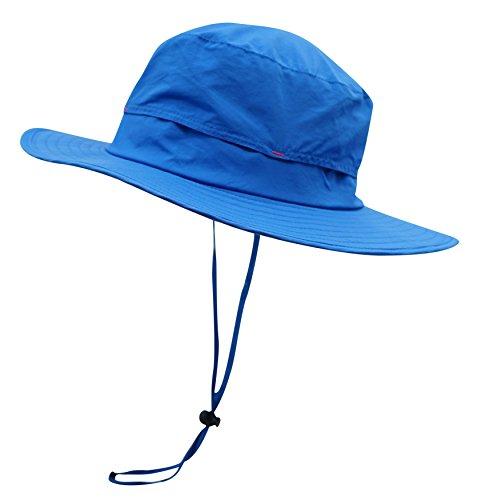 549233f61168c Connectyle Outdoor Sun Hat Summer Wide Brim Bucket Hat Boonie Fishing  Hunting Hiking Hat