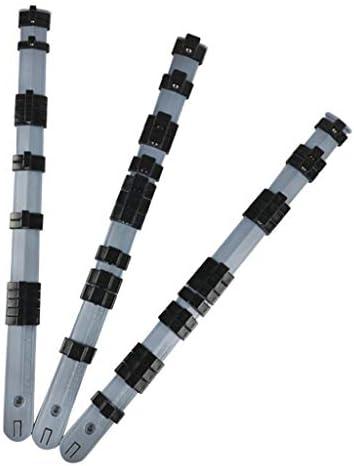 joyMerit 3pcs自動車用ハンドツール1/4 ''、3/8 ''、1/2 ''ソケット収納ラックトレイホルダー350mm