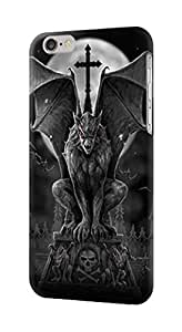 """S0850 Gargoyle Devil Demon Case Cover For IPHONE 6 (4.7"""") by runtopwell"""