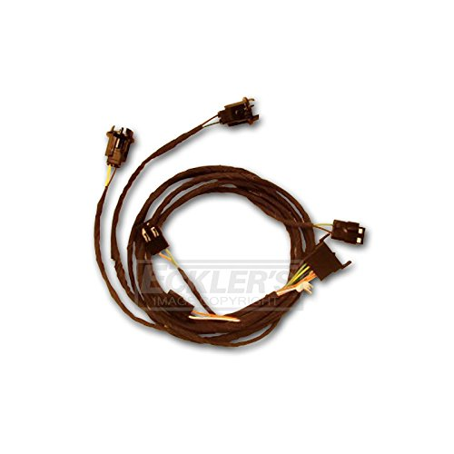 Eckler's Premier Quality Products 50-203960 Chevelle Rear Body Wiring Harness, 2-Door Sedan & Coupe,