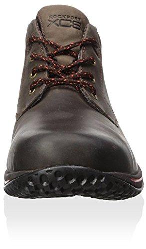 Rockport Mens Walk360 M Boot Bark / Körsbär Tomat