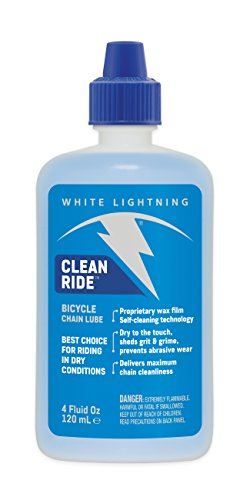 White Lightning Clean Ride - Chain Lube - Squeeze (Bike Lube)