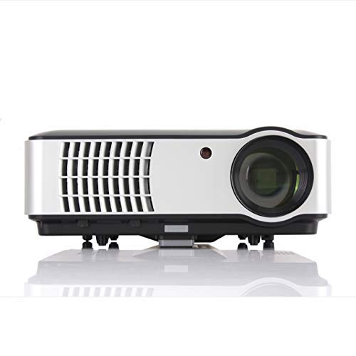 Smart Android 6.0 Projector, Gzunelic 4000 lumens WiFi 1080p Video Projector, LCD LED Full HD Theater Proyector with...