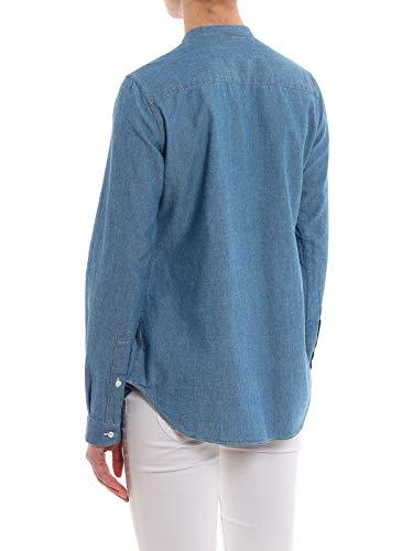 H729e5421031 Camicia Blu Aspesi Donna Cotone 6gfYby7