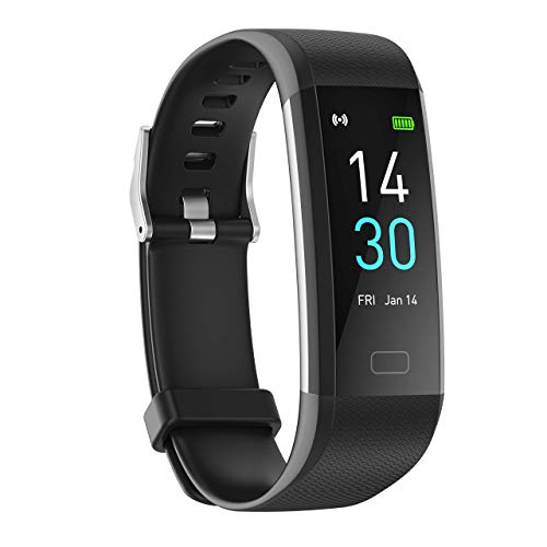 Fitness Tracker met hartslag bloeddruk slaapmonitor 16 Sportmodi, Ip68 Activity Tracker GPS track records Stappen…
