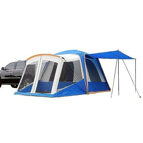 Sportz SUV Blue/Grey Tent with Screen Room (10 x10 x7.25-Feet)  sc 1 st  Amazon.com & Suv Tent: Amazon.com