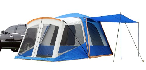 Cheap Sportz SUV Blue/Grey Tent with Screen Room (10 x10 x7.25-Feet)